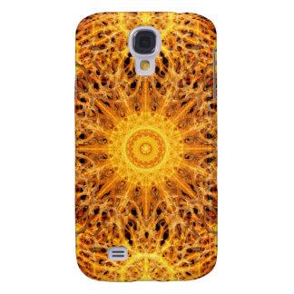 Nacimiento de la mandala del fuego funda para galaxy s4