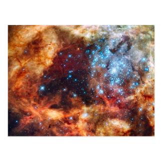 Nacimiento de la postal cósmica de las estrellas