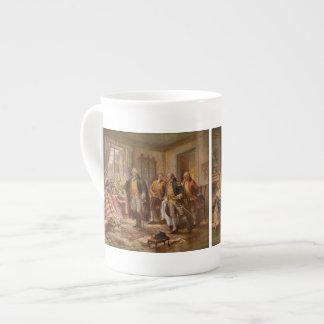 Nacimiento de la vieja gloria - Edward Moran (1917 Tazas De Porcelana