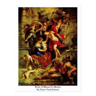 Nacimiento de Maria De Medici de Peter Paul Rubens Postal