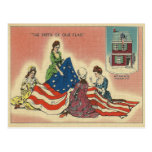 Nacimiento de nuestra bandera postal