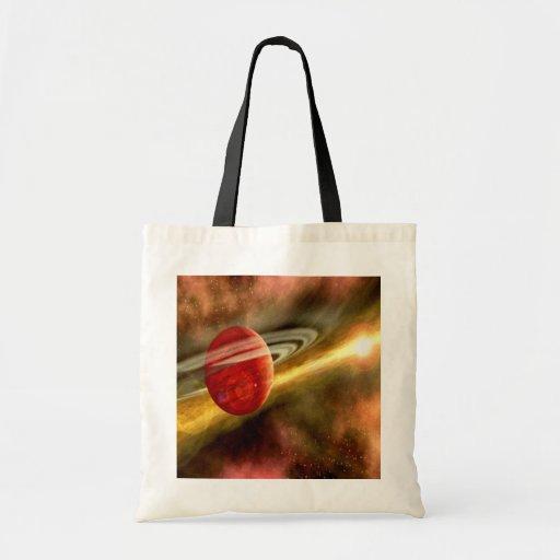 Nacimiento de Saturn Bolsa De Mano