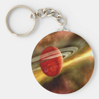 Nacimiento de Saturn Llavero Redondo Tipo Pin