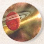 Nacimiento de Saturn Posavasos Manualidades