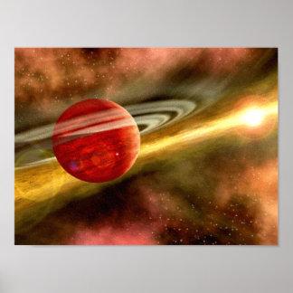 Nacimiento de Saturn Póster