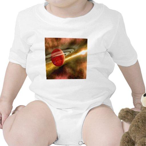 Nacimiento de Saturn Traje De Bebé