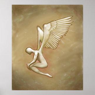 Nacimiento de un ángel póster
