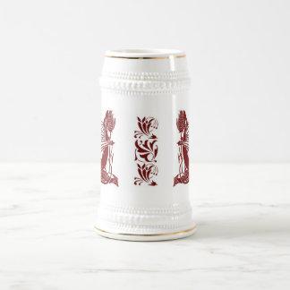 Nacimiento de un dragón Stein - Borgoña Jarra De Cerveza