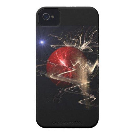Nacimiento de un planeta Case-Mate iPhone 4 protector