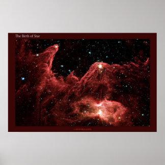 Nacimiento de una estrella póster