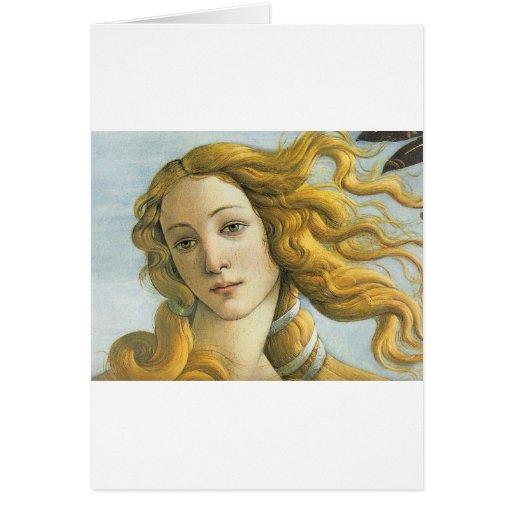 Nacimiento de Venus - Botticelli Felicitación