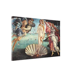 Nacimiento de Venus de Sandro Botticelli Impresión De Lienzo