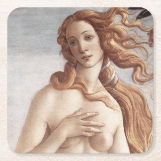 Nacimiento de Venus detalladamente por Sandro Posavasos De Cartón Cuadrado