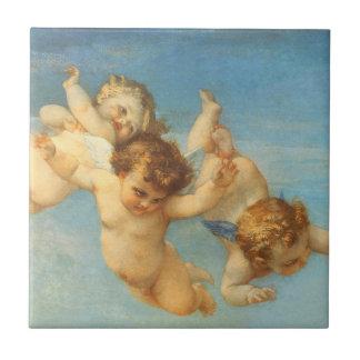 Nacimiento de Venus, detalle de los ángeles por Ca Tejas
