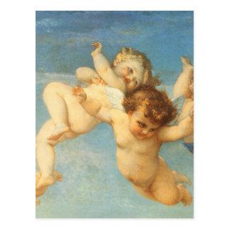 Nacimiento de Venus, detalle de los ángeles por Ca Tarjetas Postales