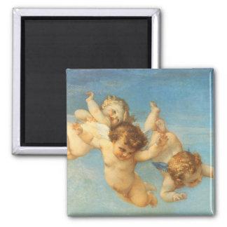 Nacimiento de Venus, detalle de los ángeles por Imán Cuadrado