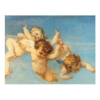 Nacimiento de Venus, detalle de los ángeles por Tarjetas Postales