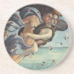 Nacimiento de Venus, detalle - par mitológico Posavasos Personalizados