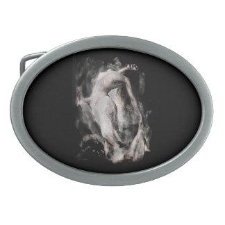 """""""Nacimiento de Venus"""" Hebilla De Cinturon Oval"""