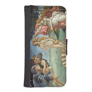 Nacimiento de Venus por Botticelli, arte renacenti Fundas Cartera De iPhone 5