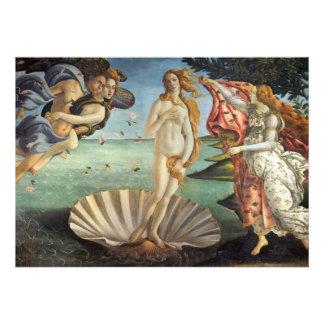 Nacimiento de Venus por Botticelli arte renacenti