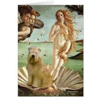 Nacimiento de Venus - Terrier de trigo 10 Tarjetón