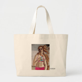 Nacimiento del bikini de Venus Bolsas De Mano