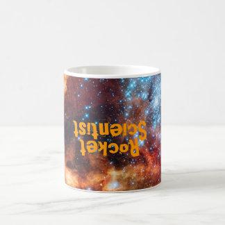 Nacimiento del científico de Rocket del cúmulo de Taza De Café