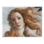 Nacimiento del cierre de Venus encima de la cabeza Tarjeta Postal