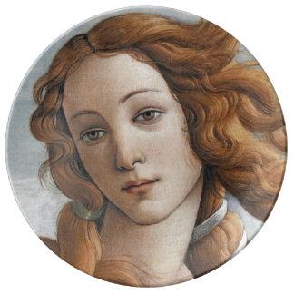 Nacimiento del cierre de Venus para arriba por San Platos De Cerámica