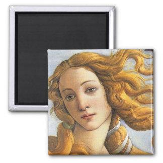 Nacimiento del detalle de Venus, Botticelli Imanes
