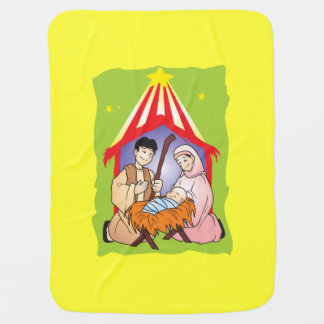 Nacimiento del navidad de la natividad del mantitas para bebé