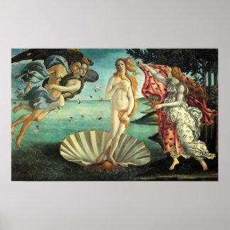Nacimiento del poster de Venus