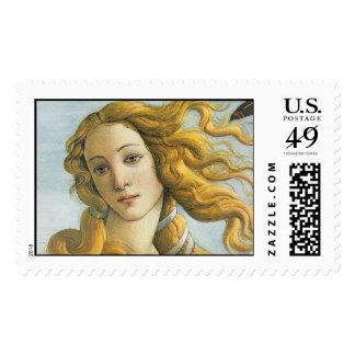 Nacimiento del vintage de la multa del sello postal