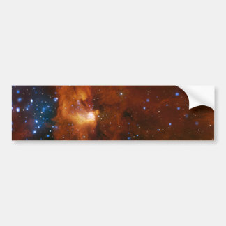 Nacimiento estelar de NASAs Etiqueta De Parachoque
