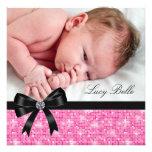 Nacimiento negro rosado de la foto de la niña comunicado
