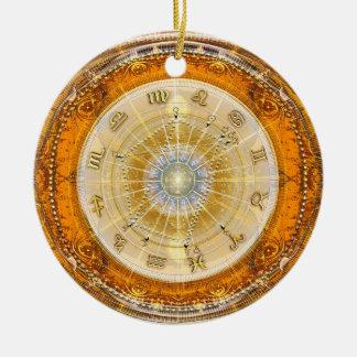 Nacimiento real Natal~Chart Ornamento De Navidad