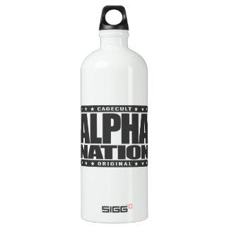 NACIÓN ALFA - amamos los artes marciales Botella De Agua