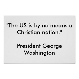 Nación cristiana poster