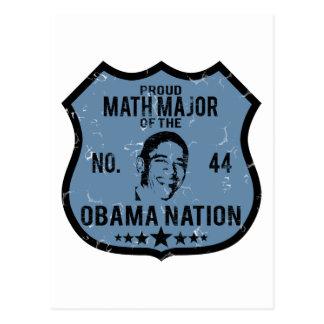 Nación de comandante de matemáticas Obama Postales