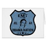 Nación de EMT Obama Felicitación