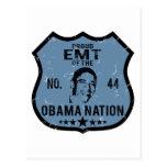 Nación de EMT Obama Postal
