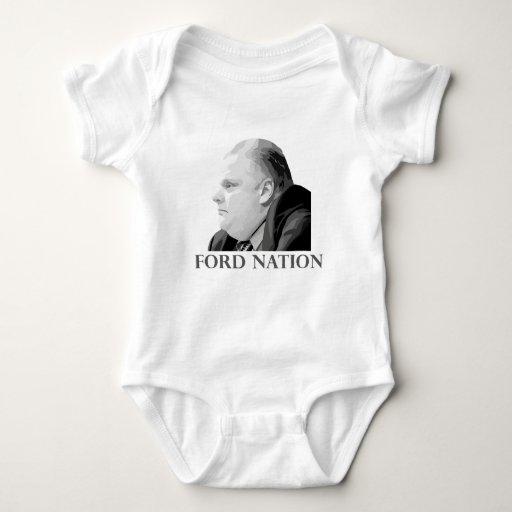 Nación de Ford Body Para Bebé