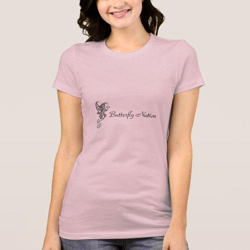 ¡Nación de la mariposa! Camisetas