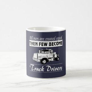 Nación de los camioneros taza de café