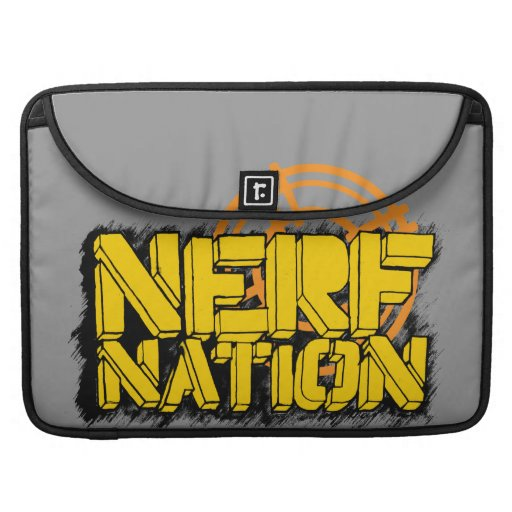 Nación de Nerf Fundas Macbook Pro