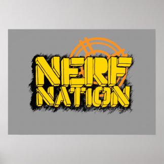 Nación de Nerf Posters