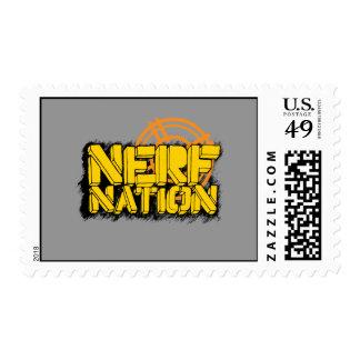 Nación de Nerf Timbres Postales