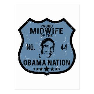 Nación de Obama de la partera Postal