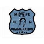 Nación de Obama de la partera Tarjetas Postales
